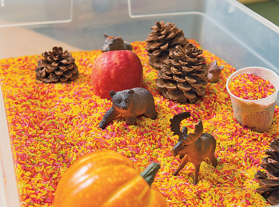 Autumn Sensory Activity