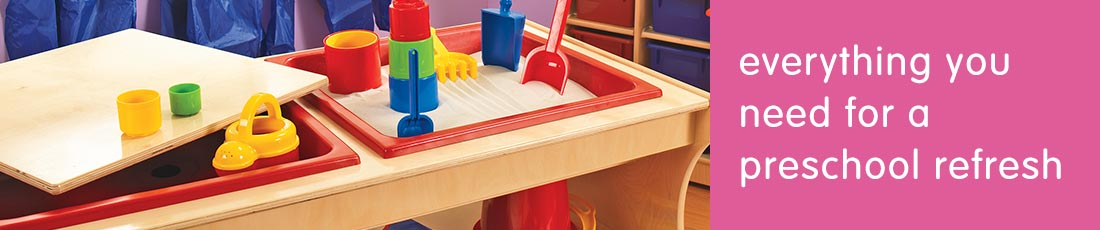 Preschool Furniture Refresh